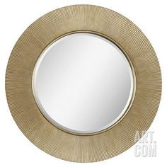 Dayton Champagne Ribbon Mirror Wall Mirror at Art.com