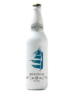 High Seas Brewing Co. concept design by Brennan Gleason.: