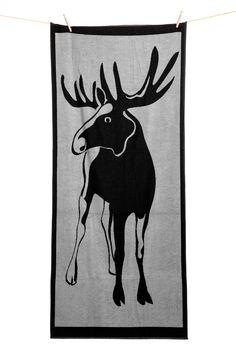 Froteepyyhe Hirvi Moose Art, Animals, Animales, Animaux, Animal, Animais