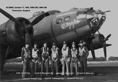 B-17 KY-J Sizzle. 366th Bomb Squadron