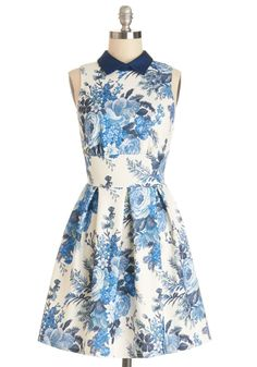 Put a collar on it, and you have the prefect dress!