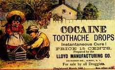 Now, I am not a fan of Cocaine, but as a history buff and Pharmacy Tech, I am a fan of this ad!!