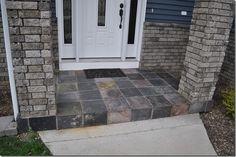 Install a slate tile
