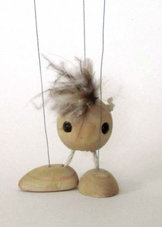 Marionette Simple Walking Dancing String Puppet by NewmanArt