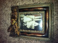 Our vintage picture frame