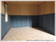 how to: paneling from bamboo placemats