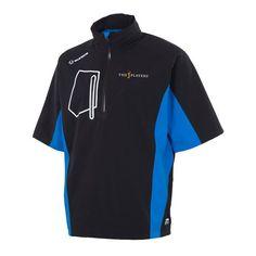 The Players Sunice Berlin Waterproof Stretch Half-Zip Short Sleeve Pullover Jacket - Black - $131.99