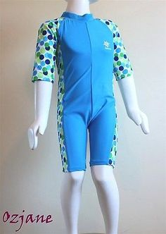 Baby boys #toddler #ozcoz uv upv 50+ sun protection swim suit 18 - 24 #months blu,  View more on the LINK: http://www.zeppy.io/product/gb/2/141983718319/