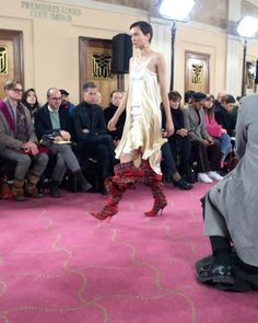 @yproject_official @parisfashionweek #cool #shoes #rock #strong #show #defile #pretaporter #readytowear #fashionweek #paris #newcollection #trends #fallwinter1819 #fashion #tendances #designers #pfw #modemonline #Model #magazine #presse #collezionidonna @karolina_trawinska via COLLEZIONI MAGAZINE official Instagram - #Beauty and #Fashion Inspiration - Beautiful #Dresses and #Shoes - Celebrities and Pop Culture - Latest Sales and Style News - Designer Handbags and Accessories - International…