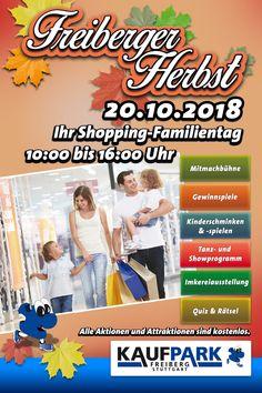 Ankündigung: Freiberger Herbst Quiz, Studio, Baseball Cards, Stuttgart, Family Day, Self Defense, Kids Makeup, Fall, Studios