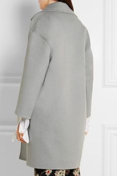Prada - Wool, Angora And Cashgora-blend Coat - Gray - IT38