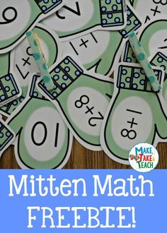 √ Fun winter themed activity for learning addition@