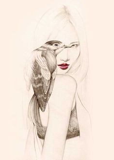 The-Girl-and-The-Birds-Drawings-7
