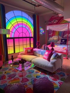 Indie Room Decor, Cute Room Decor, Aesthetic Room Decor, Indie Living Room, Hippie Bedroom Decor, Indie Bedroom, Aesthetic Indie, Chill Room, Neon Room