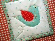 birdie potholder: by misseskwittys on Flickr