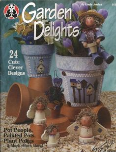 Garden Delights Decorative Tole Painting Craft Book