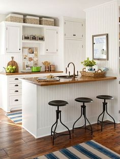Beautiful vintage and contempory kitchen