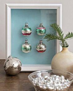 Glass Ornament Shadowbox - http://www.sweetpaulmag.com/crafts/glass-ornament-shadowbox #sweetpaul