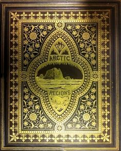 William Bradford... The Arctic Regions: Illustrated with Photographs taken on an Art Expeditition of Greenland.  1873  (only 350 copies issued of this massive book)