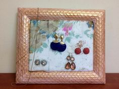 s 30 jewelry organizing ideas that are better than a jewelry box, This foam earring holder