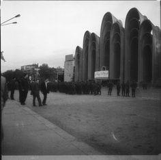 "Georgia, Tblisi, ""Andropov's Ears"" 1983  Architects: P.Kalandarishvili, G.Potskhishvili #socialist #brutalism #architecture"