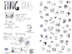 #sketch #sketchbook #murushki #mug