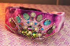 Quiet Lion Creations by Allison Beth Cooling: Hippie Crystal Headwrap