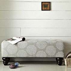 upholstered benches for bed - THIS ONE in a different fabric