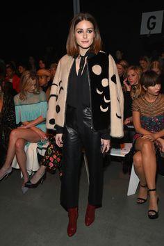 Olivia Palermo Photos Photos - Naeem Khan - Front Row - February 2018 - New York Fashion Week: The Shows - Zimbio