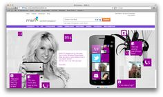 Britt's phone - a campaign for Microsoft to promote Windows Phone 7.5. The entire graphical user interface was rebuilt with Flash, showing live data of Dutch bimbo celebrity Britt Dekker, containing photo's, calendar data, twitter feed, etcetera.