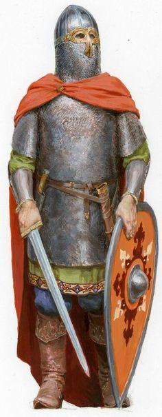 Русский дружинник 1242 г