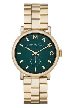 Beautiful! MARC BY MARC JACOBS Emerald Watch