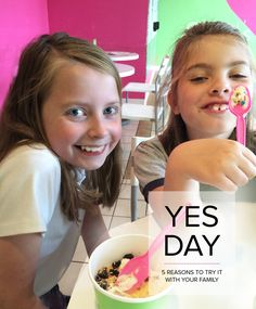 """What if you answered, """"Yes!"""" all day! Our annual tradition of Yes Day is one that we all enjoy. Consider these 5 reasons to try saying yes again and again."""