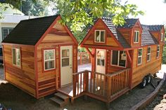 The first ever 'Molecule Tiny House', with companion study. I love this.
