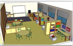 Rincones aula método TEACCH Classroom Layout, Classroom Organisation, Classroom Setting, Classroom Design, Classroom Decor, Organization, Autism Education, Autism Classroom, Special Education Classroom