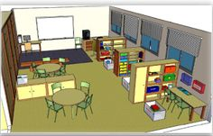 Rincones aula método TEACCH Preschool Room Layout, Preschool Rooms, Classroom Layout, Classroom Organisation, Classroom Setting, Classroom Design, Classroom Decor, Organization, Autism Education