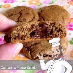 Você se lembra da Lenda dos Cookies de Chocolate Neiman Marcus  que postei no blog CULINÁRIA-RECEITAS ?   Ontem ganhei alguns cookies de c...