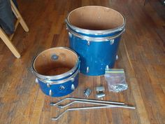 Vintage 16x16 Floor Tom and 8x12 Tom | eBay