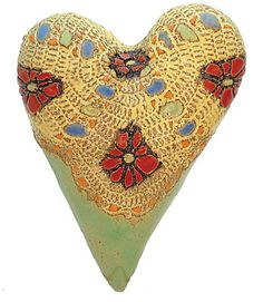 Mr. Poppy: Laurie Pollpeter Eskenazi: Ceramic Wall Art - Artful Home