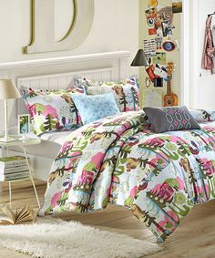 Forest Owl Comforter Set - another cute one.