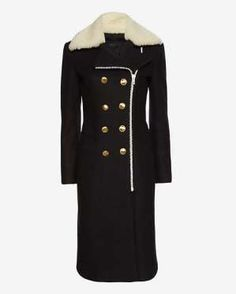 Rag & Bone Sullivan Shearling Collar Coat, $995; intermixonline.com - Provided by ELLE