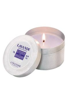 Relax: L'Occitane Lavender Scented Candle