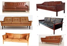 leather sofa roundup on the blog today. Some of my favorites. www.stylebyemilyhenderson.com
