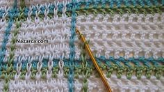 Watch This Video Beauteous Finished Make Crochet Look Like Knitting (the Waistcoat Stitch) Ideas. Amazing Make Crochet Look Like Knitting (the Waistcoat Stitch) Ideas. Crochet Diy, Crochet Afghans, Plaid Crochet, Crochet Motifs, Crochet Stitches Patterns, Love Crochet, Learn To Crochet, Crochet Crafts, Crochet Hooks