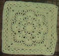 "Ravelry: Spring Fling 12"" afghan square - free crochet granny square pattern"