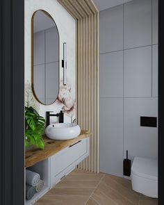 Który projekt toalety bardziej wam pasuje? Jasna czy ciemna? 1 czy 2? Piękne fototapety w projekcie od @wallartpl #kadawnetrza #newproject #project #projektlazienki #łazienka #bathroom #bathroomproject #interiordesign #interior #design #wallart #kadawnętrza #szczecin #projektowaniewnetrz Mirror, Bathroom, Interior, Furniture, Design, Home Decor, Washroom, Decoration Home, Indoor