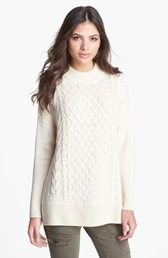 Joie 'Bryanne' Cable Knit Sweater available at #Nordstrom