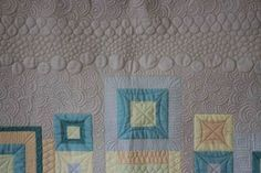 All Mine quilt panel up close by AngelaFMQ, via Flickr