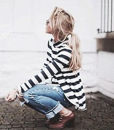 chic summer stripes