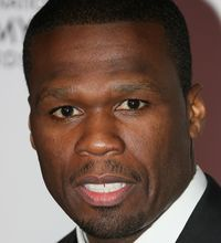 "Curtis ""50 Cent"" Jackson on April 7, 2014 in Cannes, France."